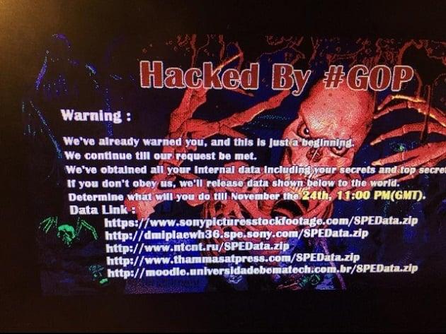 Sony Ransomware Threat
