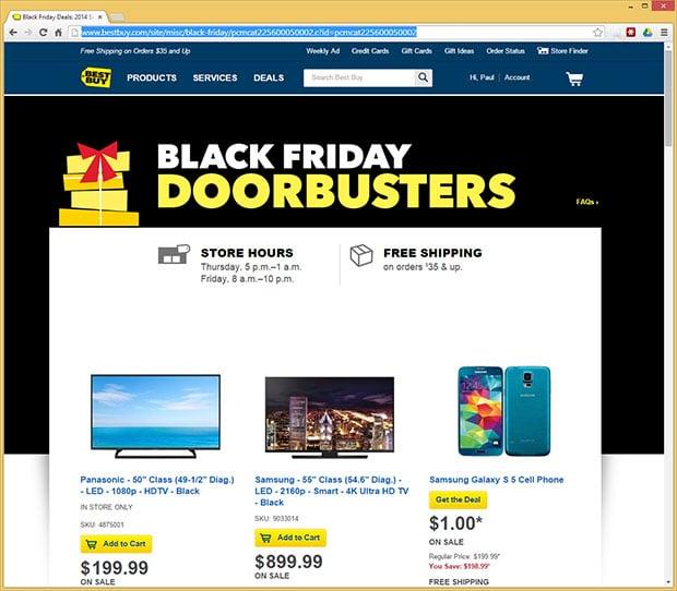 Best Buy Doorbusters