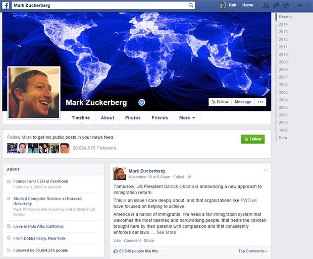 Mark Zuckerberg FB