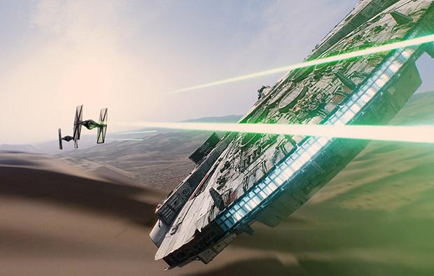 Star Wars Force Awakens Fighter