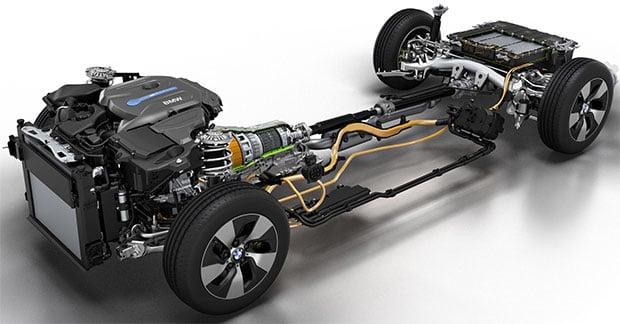 BMW Hybrid Drivetrain