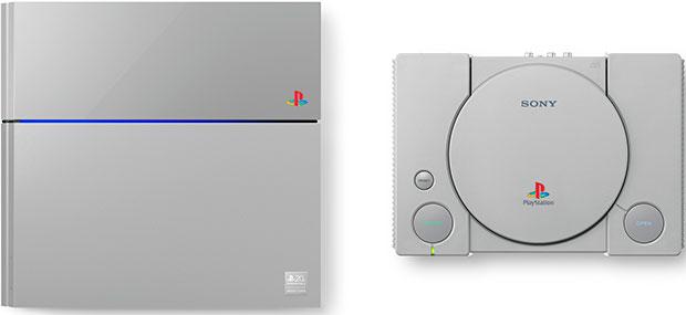 PlayStation 4 and PlayStation 1