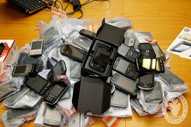 Stolen Smartphones