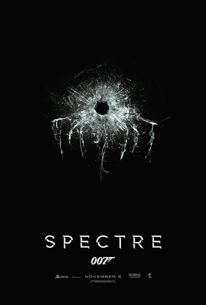 James Bond Spectre Tall Poster