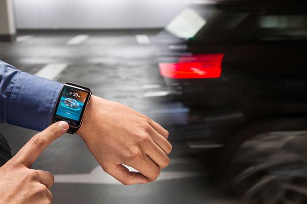 BMW Park Assistant Smartwatch