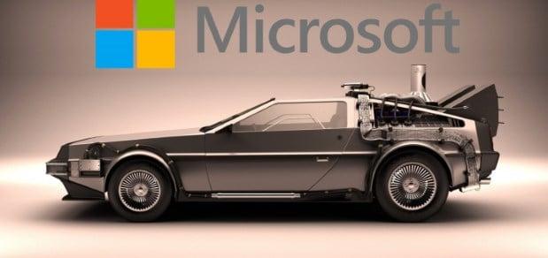 Microsoft DeLorean