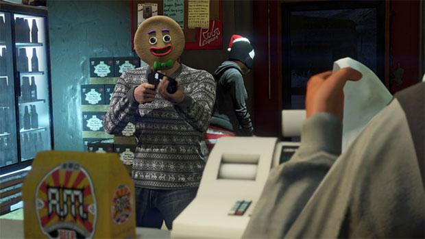 Grand Theft Auto V Holiday
