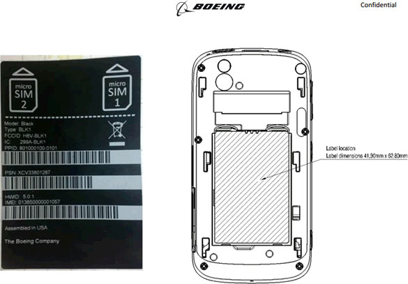 Boeing Privacy Smartphone