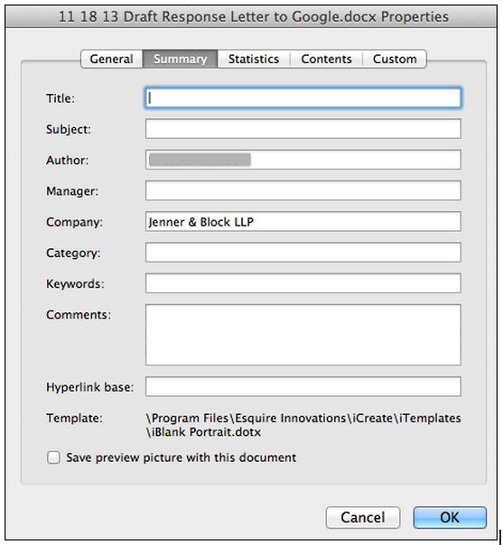 jenner metadata redacted