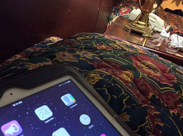 iPad Bed