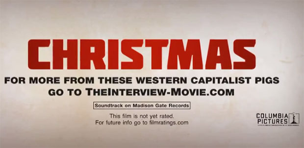 The Interview on Christmas