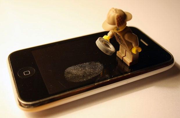 Fingerprint on Phone