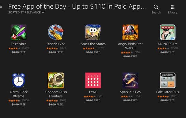Amazon App Store Free Apps