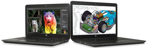 The HP ZBook ultrabook workstation series has suport for 3D graphics thanks to AMD FirePro graphics.