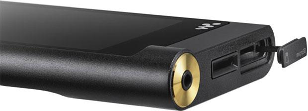 Sony Walkman NW-ZX2 Ports