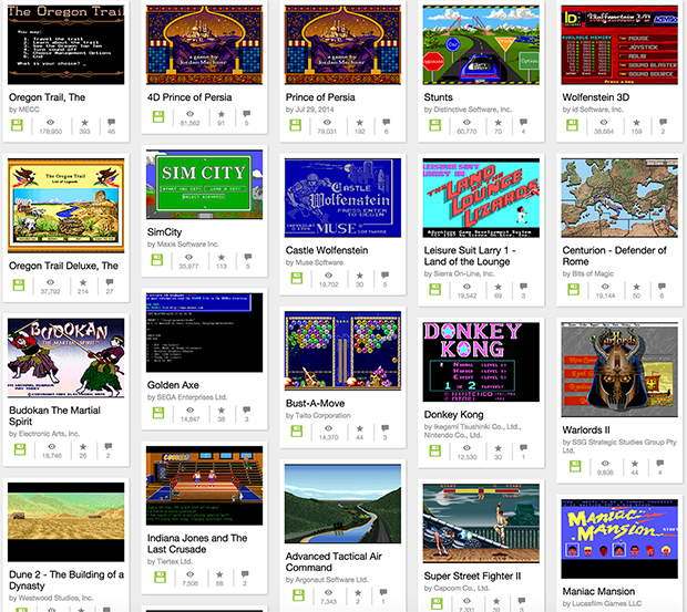 Internet Archive Resurrects Over 2300 Classic MS-DOS Games