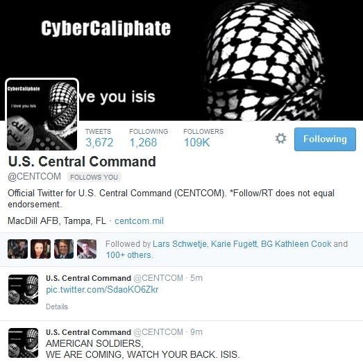 ISIS Central Com Hack