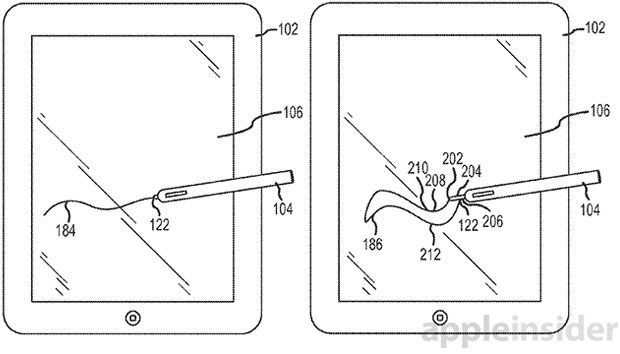 Apple Stylus Patent Drawing
