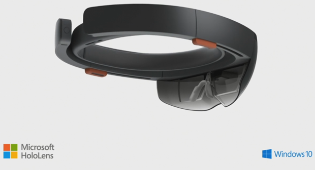 HoloLens which will come out around Windows 10 timeframe