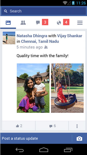 Facebook Lite is easy on smartphones that use Android.