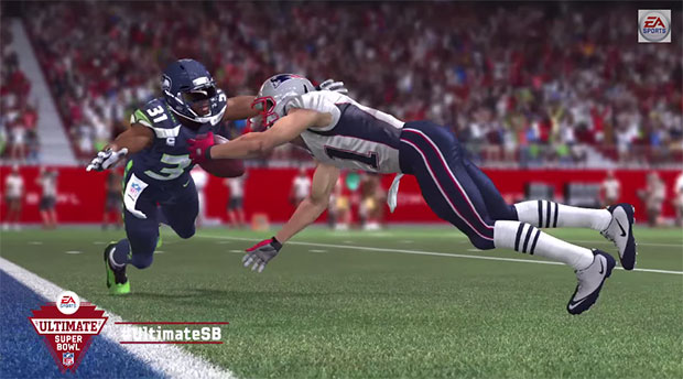 Madden Super Bowl Screenshot