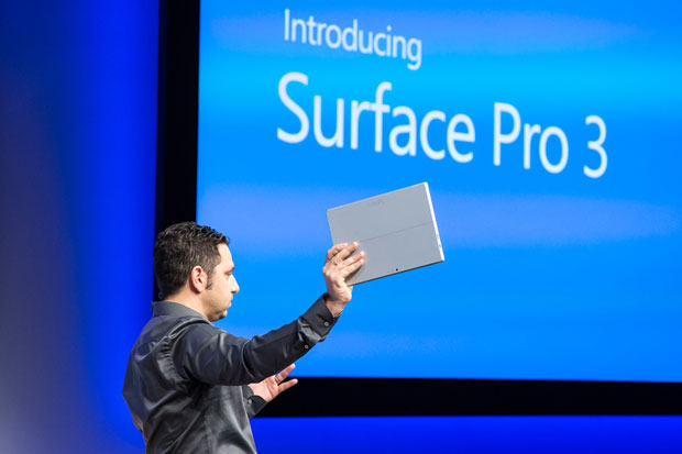 The Surface Pro 3 was a big winner for Microsoft in Q4 2014.