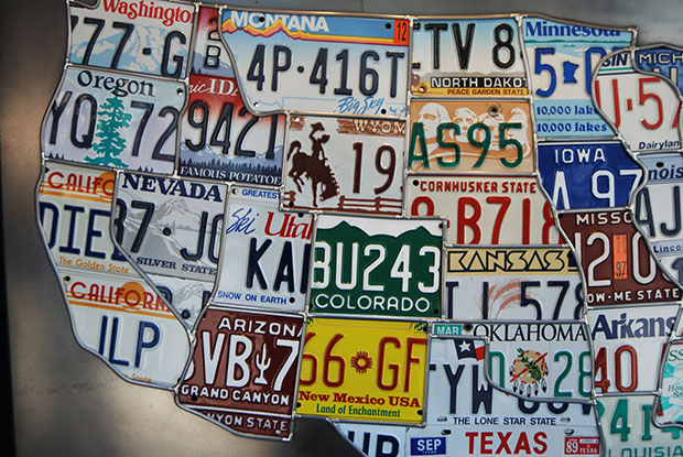 License Plate Map Flickr Josh Kellogg
