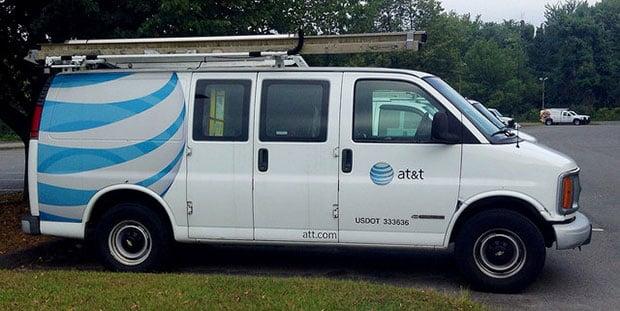 AT&T Van
