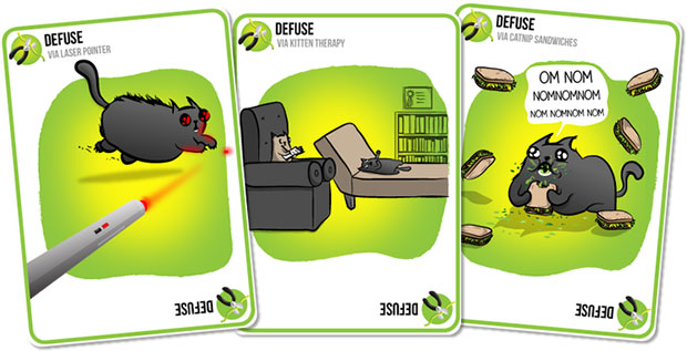 Exploding Kittens Defuse
