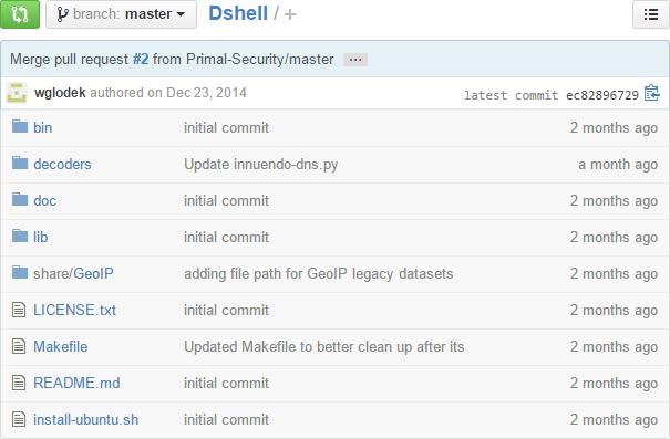 DShell Code