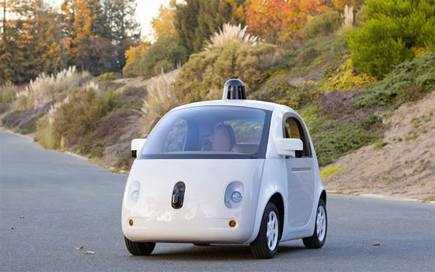 Self-driving car like Google's new prototype vehicle might be a challenge to Ford.
