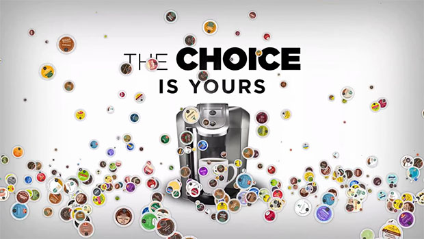 The Choice Is Yours Keurig