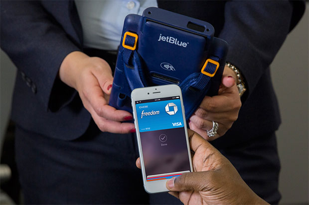 Apple Pay on JetBlue