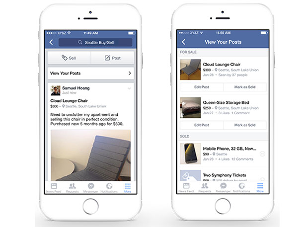 Facebook is taking on Craigslist with features for sellers
