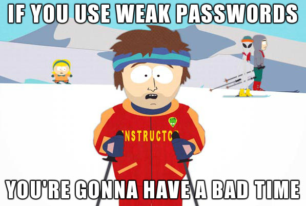 Weak Passwords