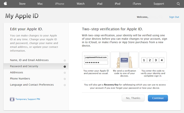 Two-step verification is coming to FaceTime and iMessage