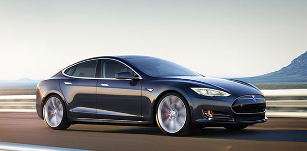 The Tesla may get competition from an electric vehicle by Apple