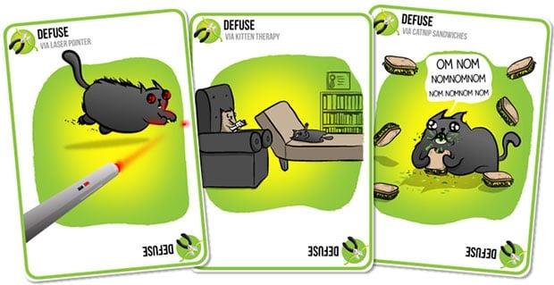 Exploding Kittens Cards