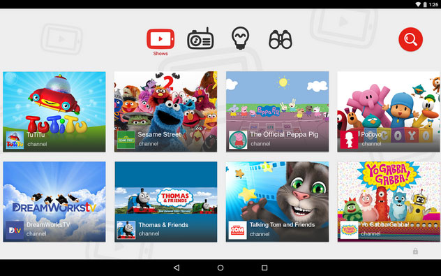 YouTube Kids Vaults Onto Google Play And iOS App Stores | HotHardware