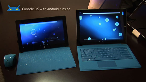 Console OS Microsoft Surface