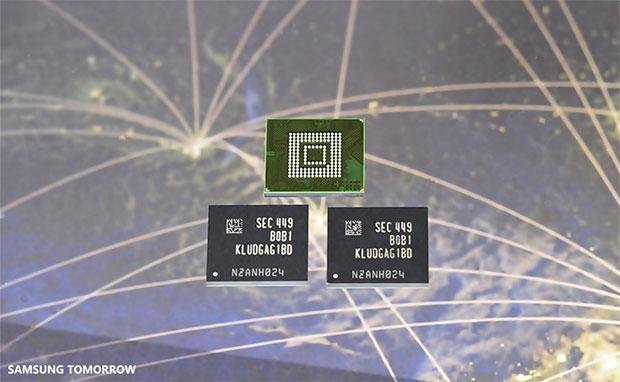 Samsung UFS Memory