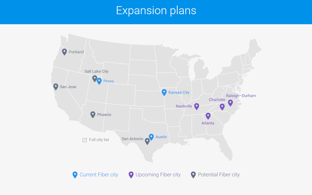 Google Fiber Plans Google Tells Cities To Greet Google Fiber With Open Arms Or Enjoy Your Time Warner Cable