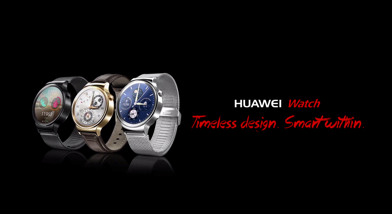Move Over Moto 360! Huawei's Gorgeous Android Wear Smartwatch Now Has The Floor