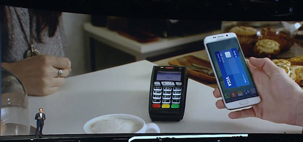 GalaxyS6 Samsung Pay