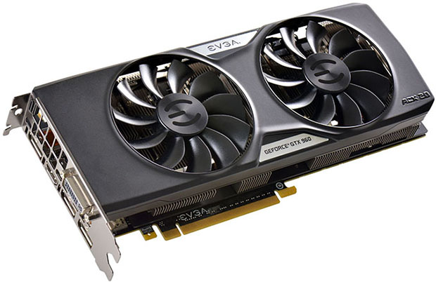 EVGA GeForce GTX 960 4GB SuperSC Edition
