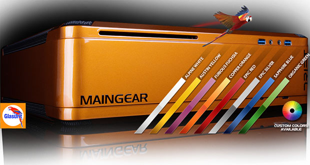 MAINGEAR DRIFT Steam Box Colors