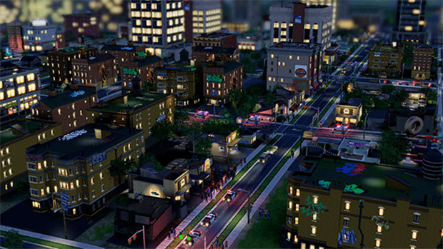 SimCity Night