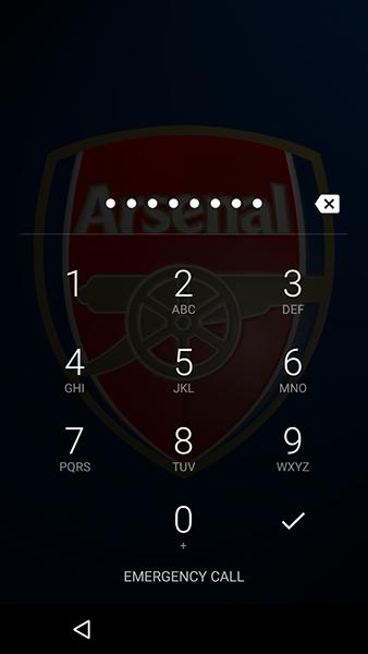 Smartphone Pincode