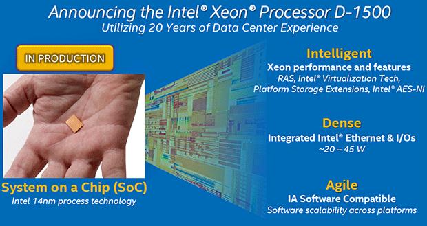 Intel Xeon D Slide 3