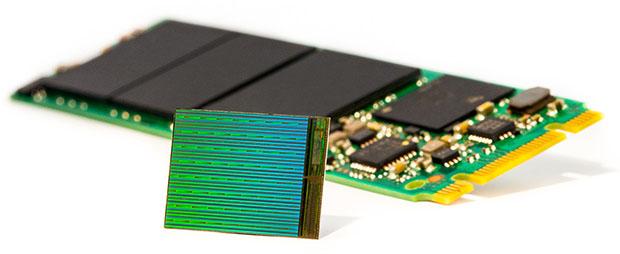 Intel Micron 3D NAND Drive